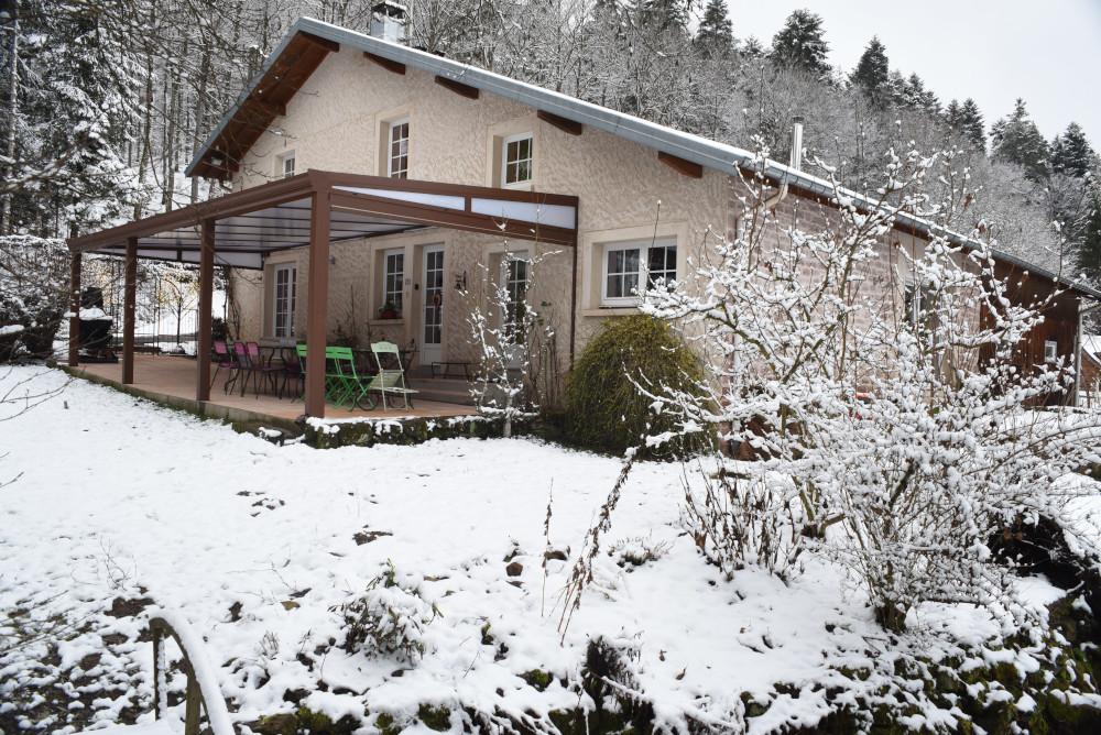 Terrasse version neige
